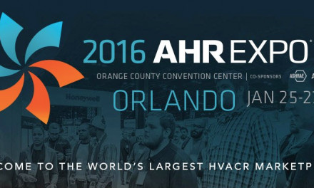 Upcoming Show: 2016 AHR Expo