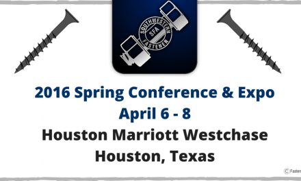 Coming Up: 2016 Southwestern Fastener Association Conference and Expo