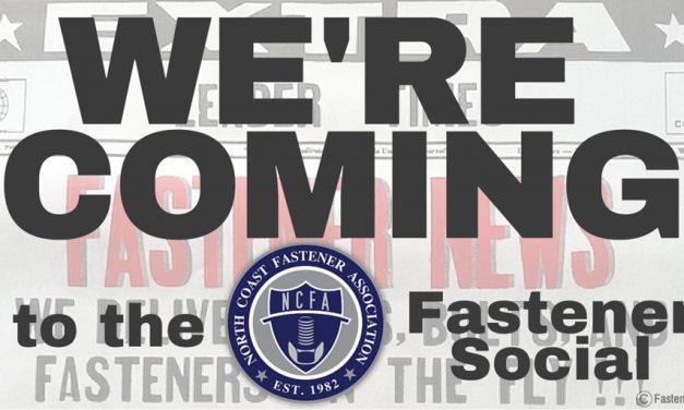 May 12th: North Coast Fastener Association Fastener Social