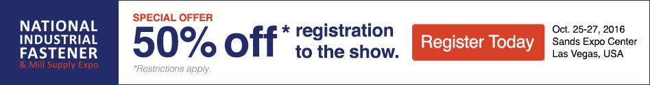 fastener show registration