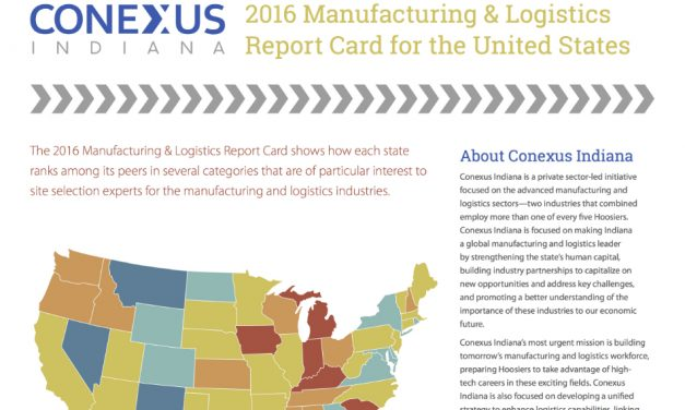 2016 Manufacturing & Logistics Report Card for the United States