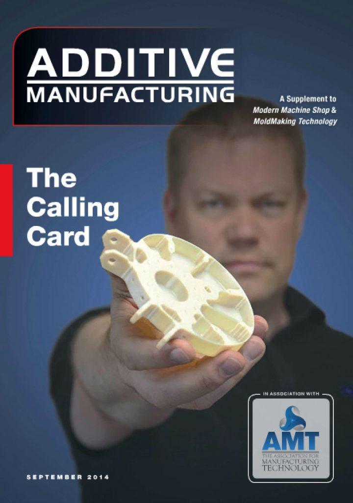 Additive Manufacturing September 2014