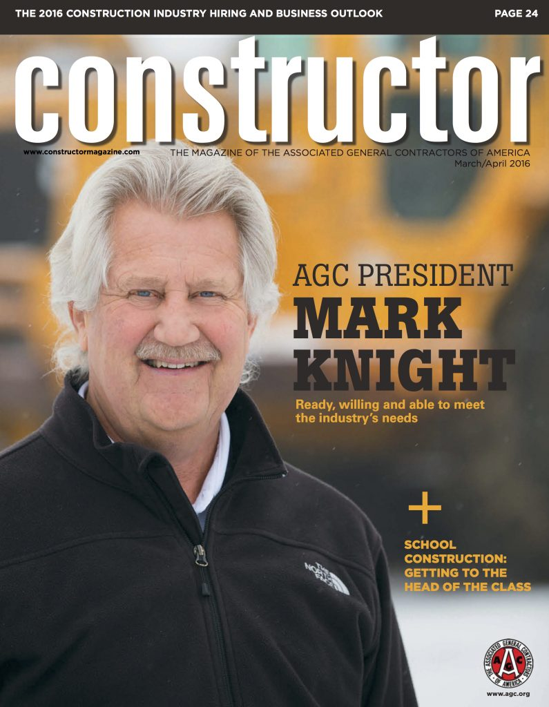 Constructor Magazine Cover March April 2016
