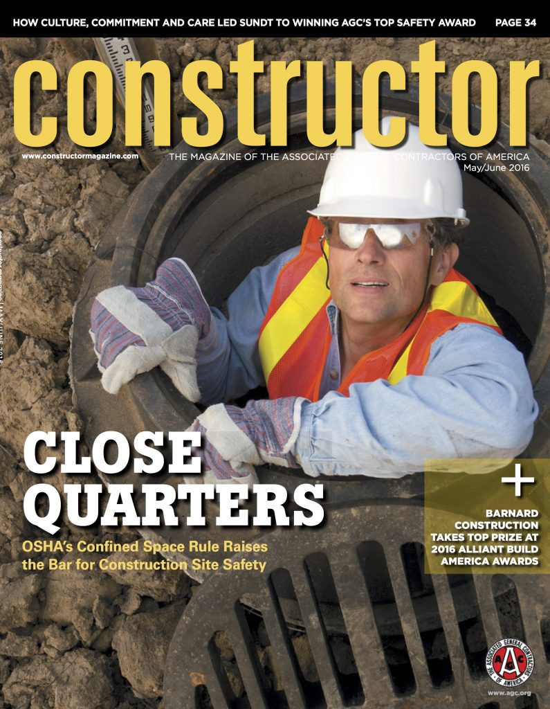 Constructor Magazine Cover May June 2016