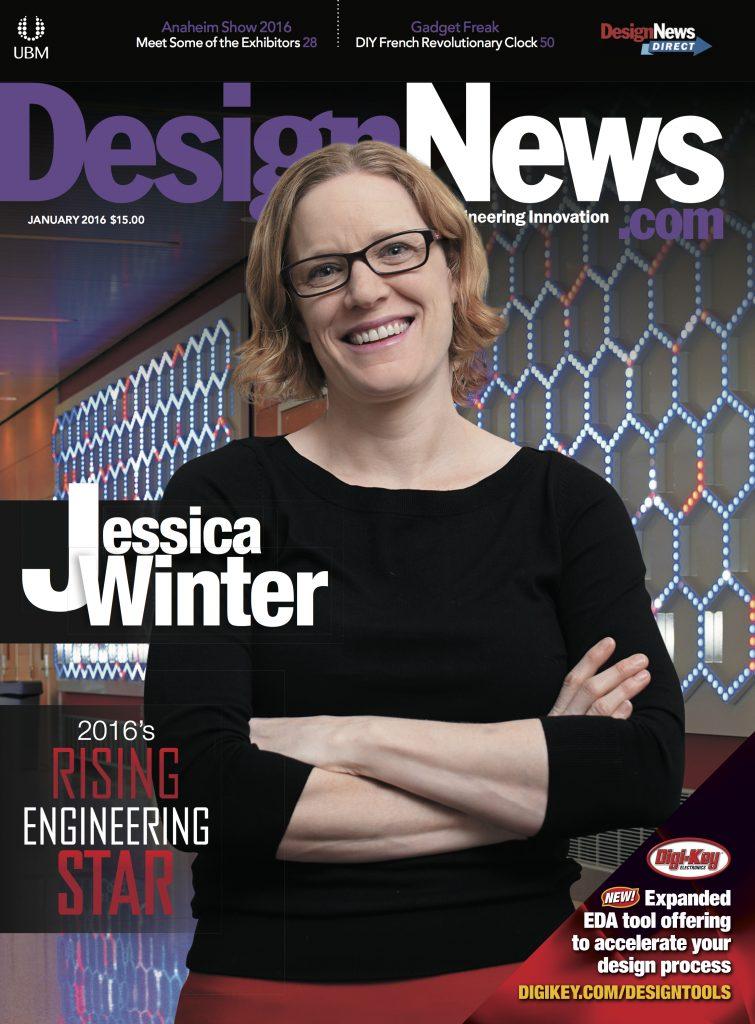 Design News January 2016 COVER