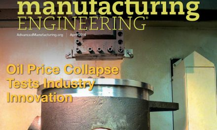 Manufacturing Engineering, April 2016