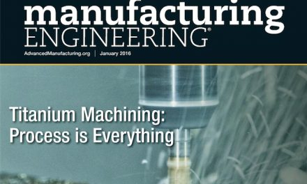 Manufacturing Engineering, January 2016