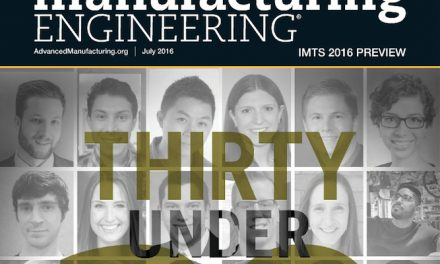 Manufacturing Engineering, July 2016