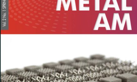 Metal Additive Manufacturing, Vol. 2 No. 1 SPRING 2016
