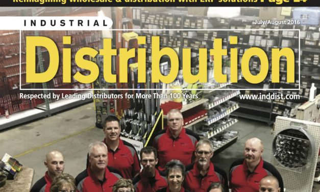 Industrial Distribution, July/August 2016