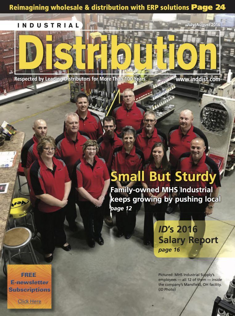 Industrial Distribution July August 2016 COVER