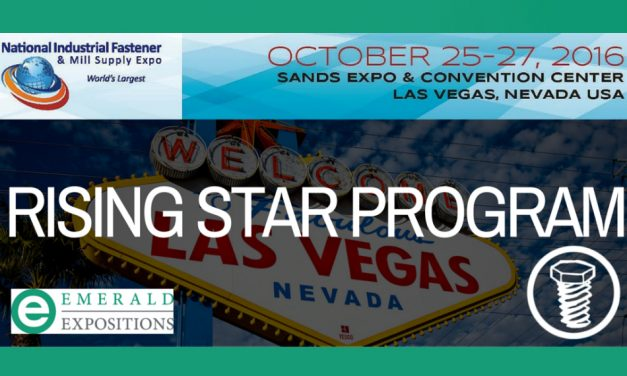 "Emerald Expositions' ""Rising Star Program"" Gives 10 Young Pros the Chance to Attend the Fastener Show in Las Vegas!"