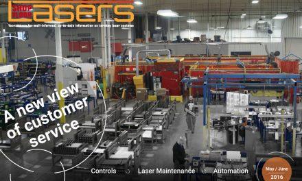 Shop Floor Lasers, May/June 2016
