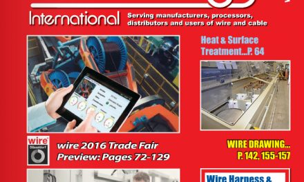 Wire and Cable Technology International, March/April 2016