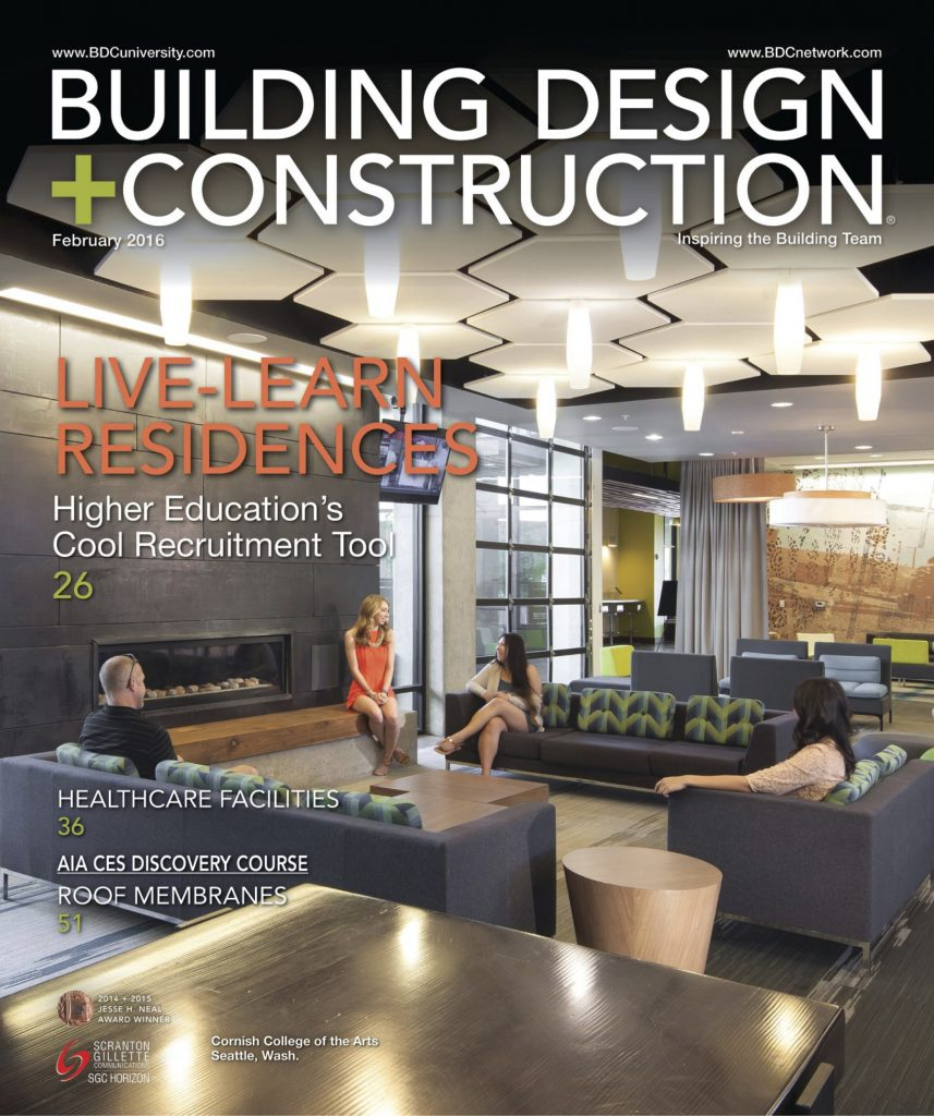 building design construction cover february 2016