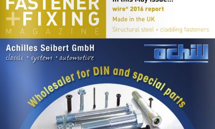 Fastener + Fixing Magazine, May 2016