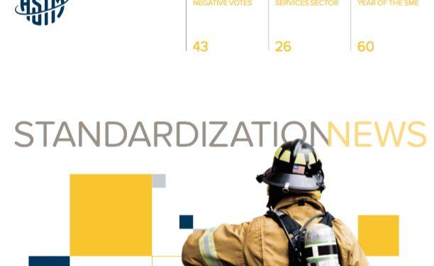 ASTM International's Standardization News, July/August 2016