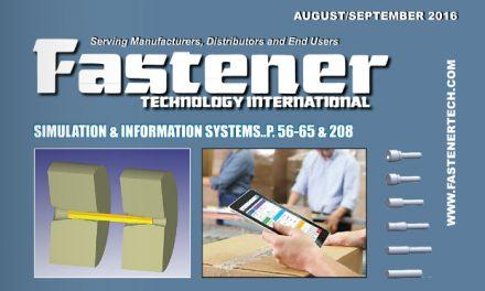 Fastener Technology International, August/September 2016