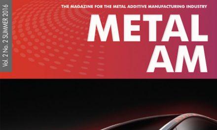 Metal Additive Manufacturing, Vol. 2 No. 2 SUMMER 2016