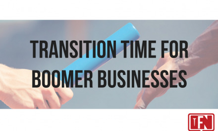 Transition Time for Boomer Businesses