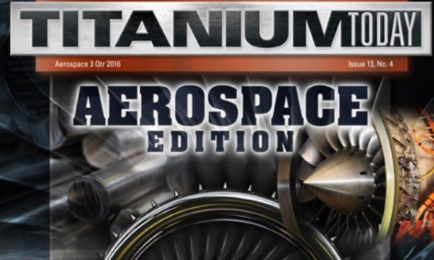 Titanium Today, 3rd Quarter 2016