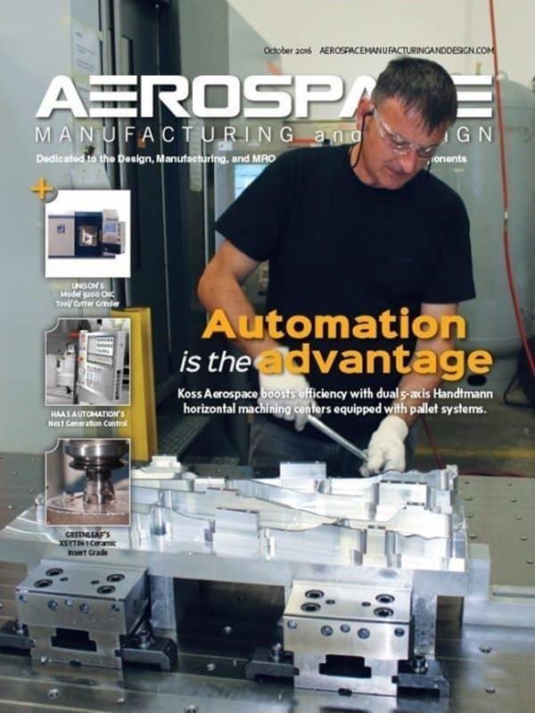 Aerospace Manufacturing and Design, October/November 2016
