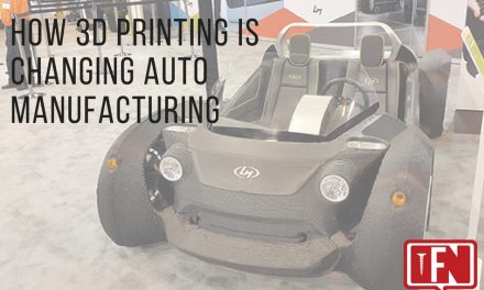 How 3D Printing Is Changing Auto Manufacturing