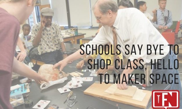 Schools Say Bye to Shop Class, Hello to Maker Space