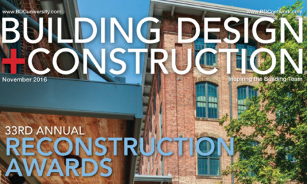 Building Design + Construction, November 2016