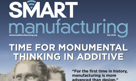 Smart Manufacturing, Fall 2016