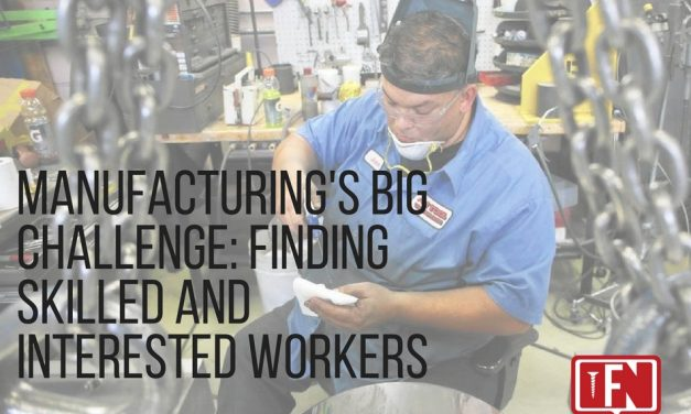 Manufacturing's Big Challenge: Finding Skilled and Interested Workers