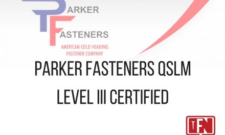 Parker Fasteners QSLM Level III Certified