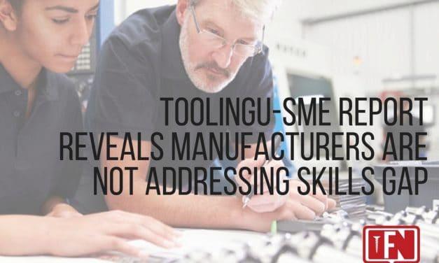 ToolingU-SME Report Reveals Manufacturers Are Not Addressing Skills Gap