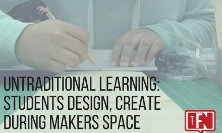 Untraditional Learning: Students Design, Create During Makers Space