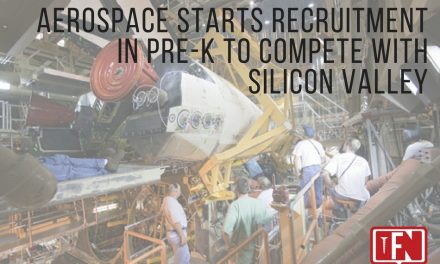 Aerospace Starts Recruitment in Pre-K to Compete with Silicon Valley