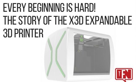 Every Beginning is Hard! The story of the X3D Expandable 3D Printer