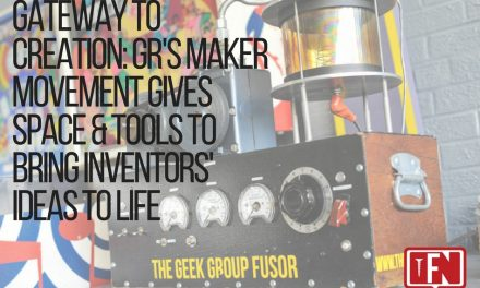 Gateway to Creation: GR's Maker Movement Gives Space & Tools to Bring Inventors' Ideas to Life
