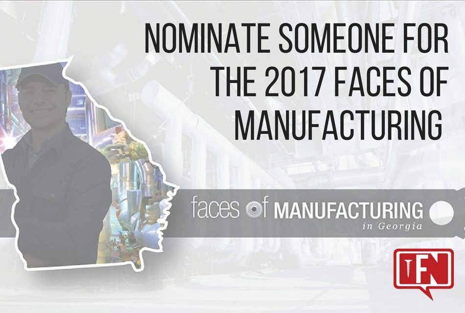 2017 Faces of Manufacturing Nominees