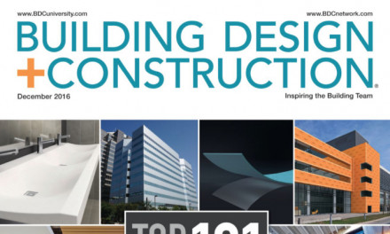 Building Design + Construction, December 2016