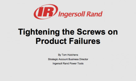 Tightening the Screws on Product Failures