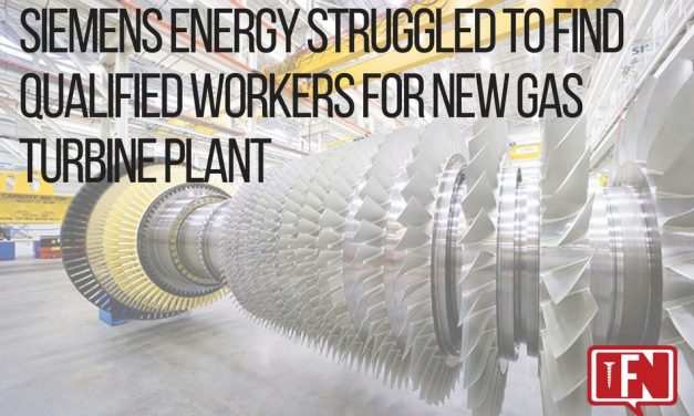 Siemens Energy Struggled to Find Qualified Workers for New Gas Turbine Plant