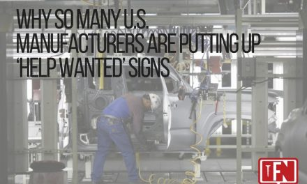 Why So Many U.S. Manufacturers are Putting up 'Help Wanted' Signs