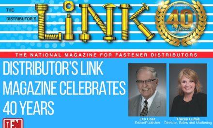Distributor's Link Magazine Celebrates 40 Years