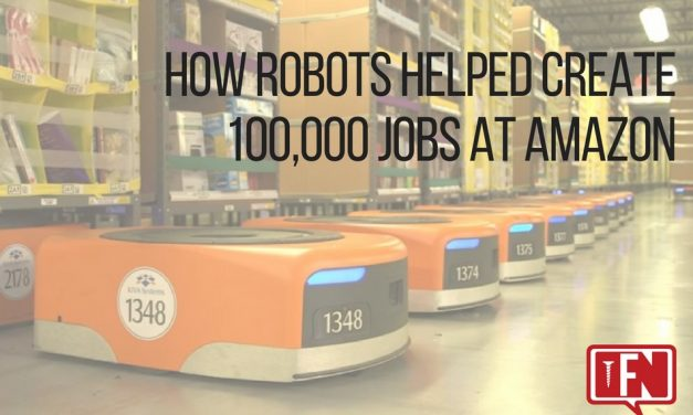 How Robots Helped Create 100,000 Jobs at Amazon