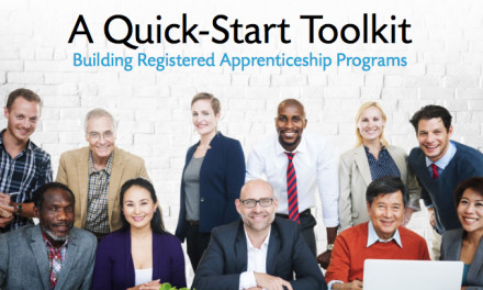 A Quick-Start Toolkit: Building Registered Apprenticeship Programs