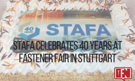 Stafa to Celebrate 40 Years at Fastener Fair in Stuttgart