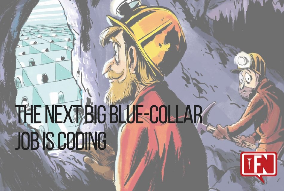 The Next Big Blue-Collar Job Is Coding