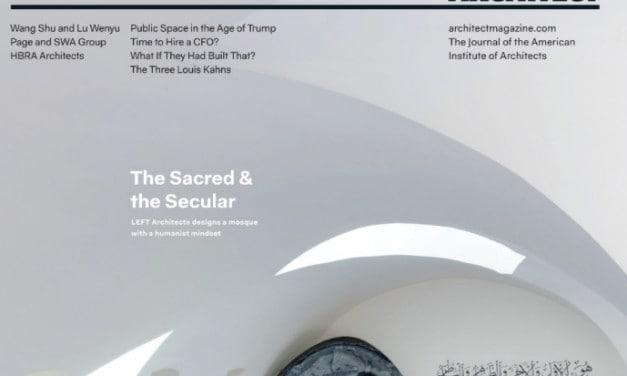 Architect Magazine, February 2017