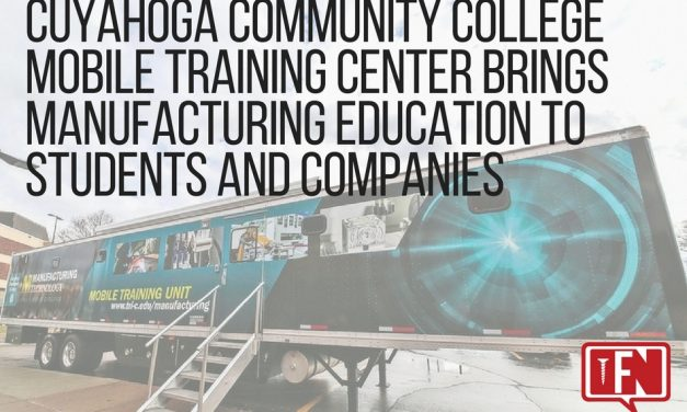 Cuyahoga Community College Mobile Training Center Brings Manufacturing Education to Students and Companies
