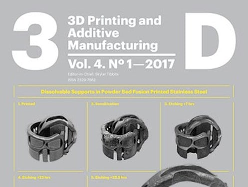 3D Printing and Additive Manufacturing, VOL. 4, N. 1